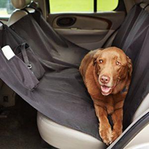Waterproof Car Hammock Rear Seat Cover for Pets 2021