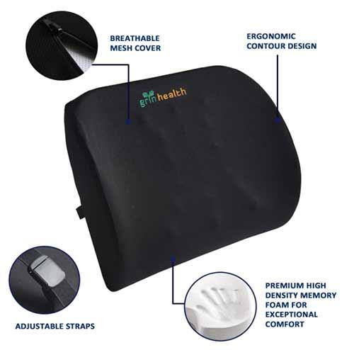 Car Seat cushion for Lumbar Support