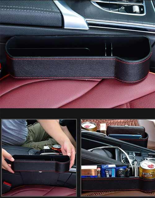 Lukzer Car Seat Pockets