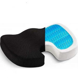 OBLIQ Best Orthopedic Seat Cushion For Car (Back Pain Relief) 2020