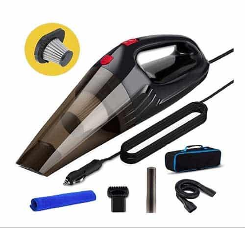Powerful Techzere Car Handheld Vacuum Cleaner India 2020