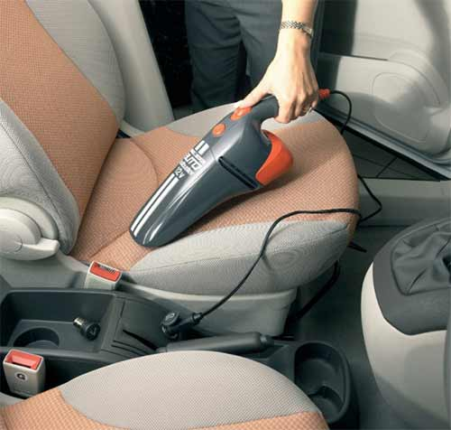 Powerful black and decker vacuum cleaner for car India
