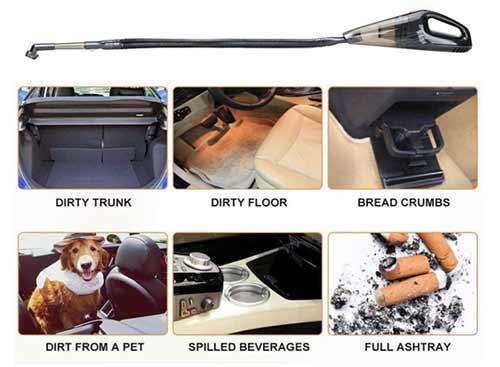 Techzere Car Handheld Vacuum Cleaner