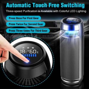 Vantro Smart Car Air Purifier with HEPA & Ionizer India 2021