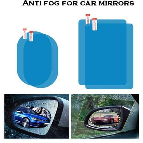 Anti fog for car mirrors