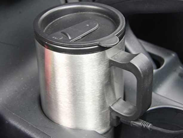 Stainless Steel car water heater for coffee