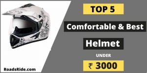 Comfortable and the best helmet under 3000 in India (According to your budget)