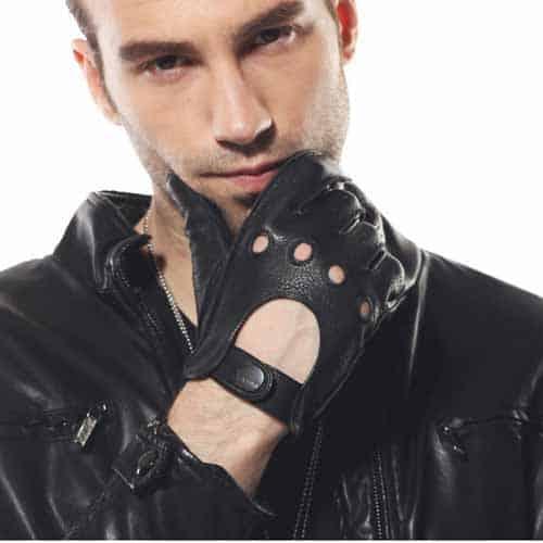 ELMA Men's unlined deerskin gloves for driving