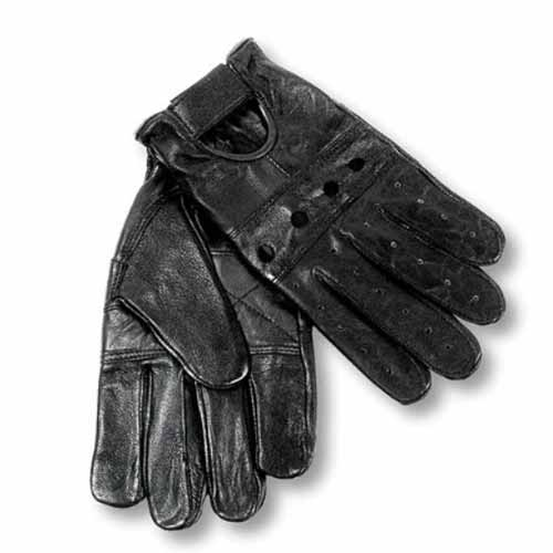 Interstate leather driving gloves
