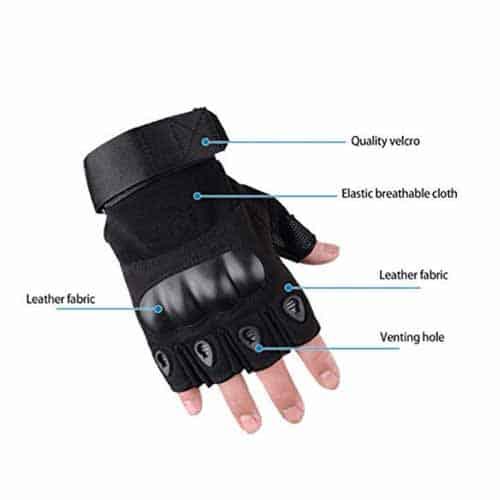 LAFILLETTE half finger bike gloves