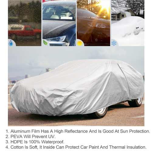 Leader Accessories Car Cover for sedan