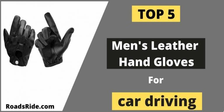 Top 5 Men's leather hand gloves for car driving (Jan. 2021)