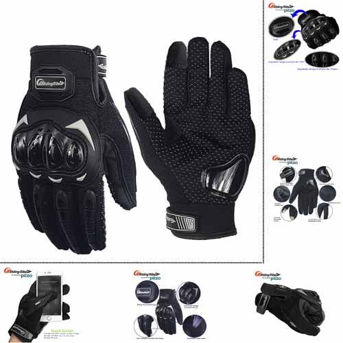 PITZO Probiker Tribe Full Finger bike Gloves