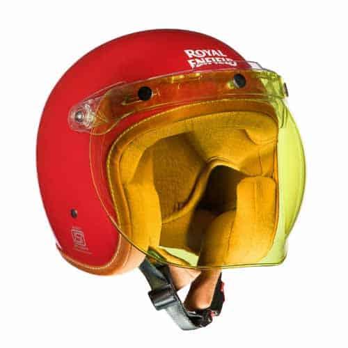 Royal Enfield open face helmet visor