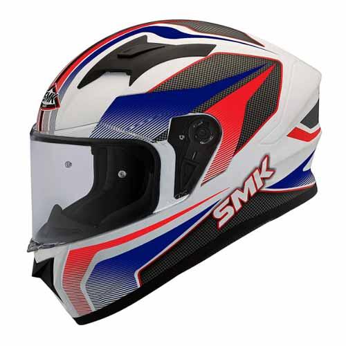 SMK Men's GL153 dynamo helmet wit Graphics & Pinlock Fitted