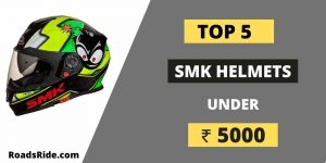 Read more about the article Best and Comfortable SMK helmets under 5000 in India 2021