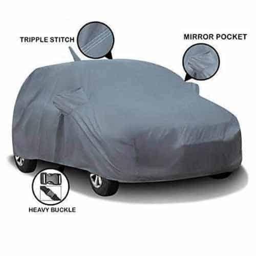 Tata Tiago body cover with antenna pocket