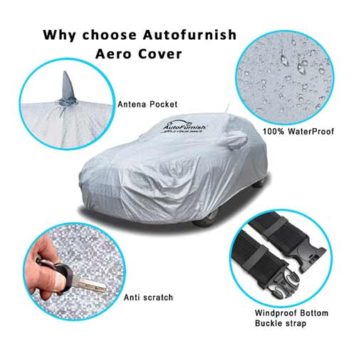 swift car body cover with antenna pocket