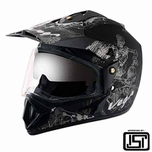 Vega off road helmet double visor