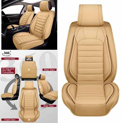 OASIS AUTO leather seat covers - Roadsride