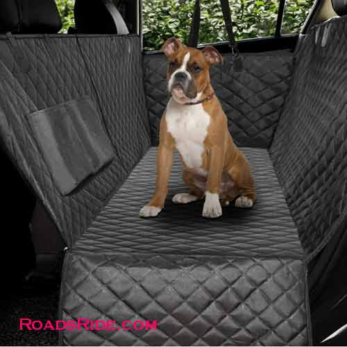 Honest Luxury Quilted Dog Car Seat Covers