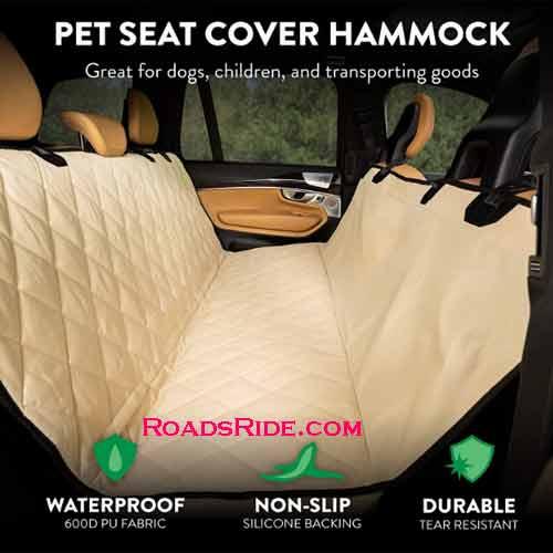 Plush Paws premium convertible rear pet for car