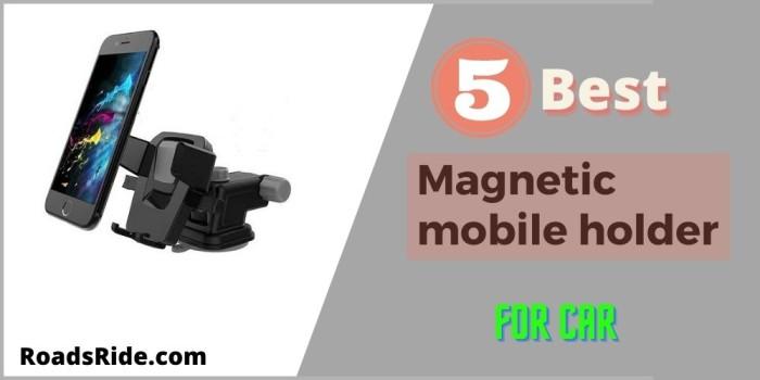 5 Best Budget Affordable Magnetic mobile holder for car India 2021