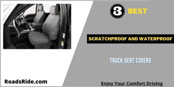 Read more about the article 3 Best Scratchproof and waterproof truck seat covers by RoadsRide.com