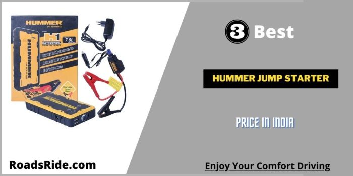 Read more about the article Hummer jump starter price in India: 3 Powerful car jump starter