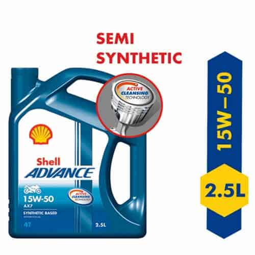 Shell 15w50 fully synthetic oil for Royal Enfield 350
