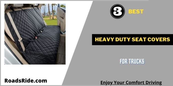 Read more about the article 3 Best heavy duty seat covers for trucks for dog lovers
