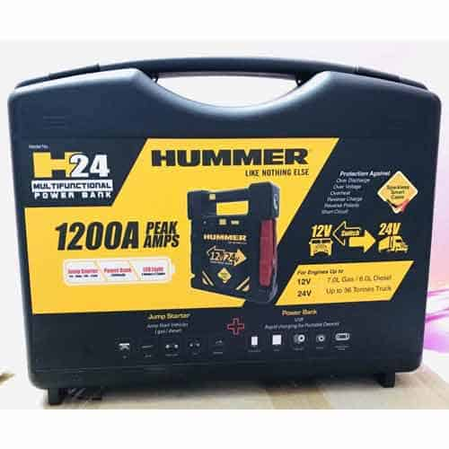 hummer battery jump starter price in India