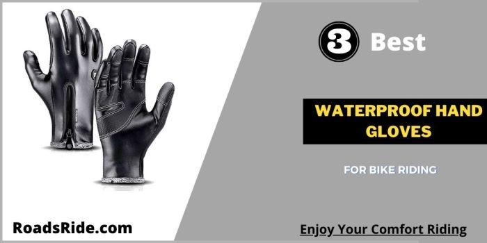 Read more about the article 3 Best Waterproof hand gloves for bike riding in India 2021