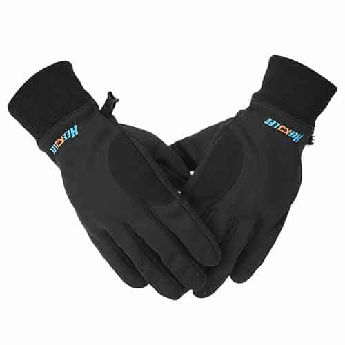 Pekdi Warm Touch Screen with Full-Finger waterproof motorcycle gloves