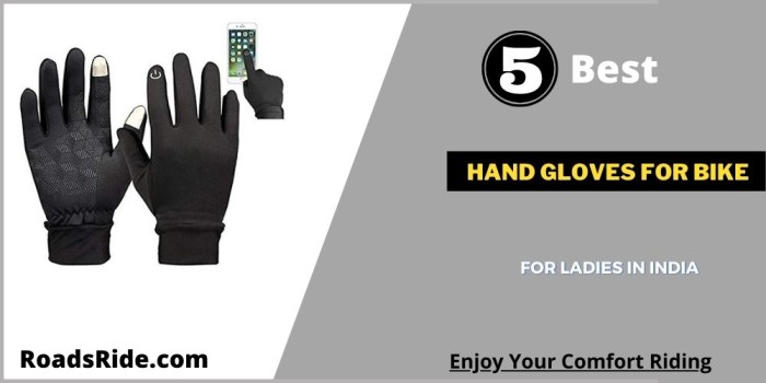 Read more about the article Best hand gloves for bike for ladies India: Increase grip with bike handlebar