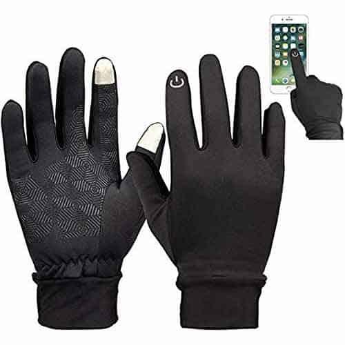 Waterproof hand gloves for bike (Touch Screen Friendly women's gloves)