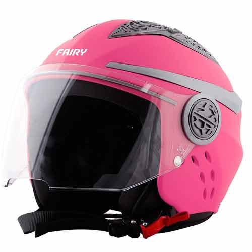 Steelbird Fairy Specially Designed ISI Certified Helmet for Girl