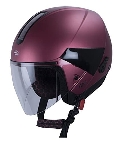 Steelbird Female High Impact ABS Material Shell Open Face Helmet