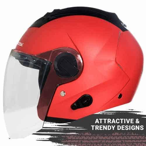 Steelbird SBA-3 R2K classic open face helmet