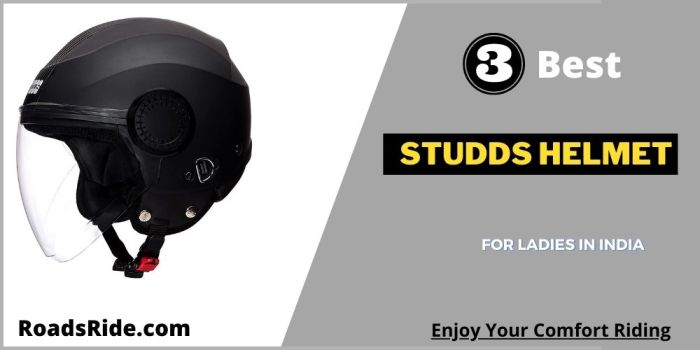 Read more about the article Top 3 Studds helmet for ladies in India: Increase your safety while riding