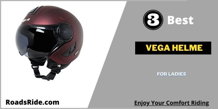 Read more about the article Top 3 Vega helmet for ladies in India: Increase your comfort riding