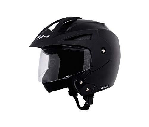 Vega Open Face Atom Red Helmet for Women