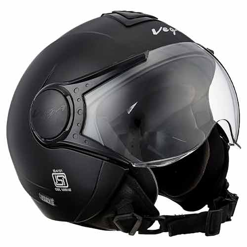 Vega Verve Open Face Helmet for women (Comes with a different shell)
