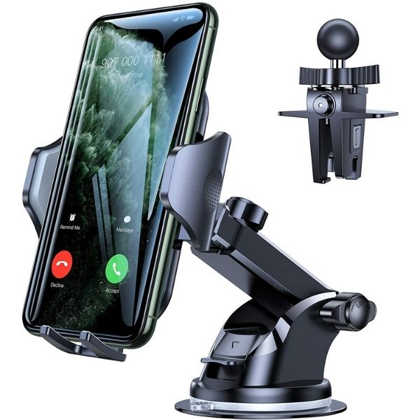 Long Arm Suction Cup Phone Holder for Car Dashboard
